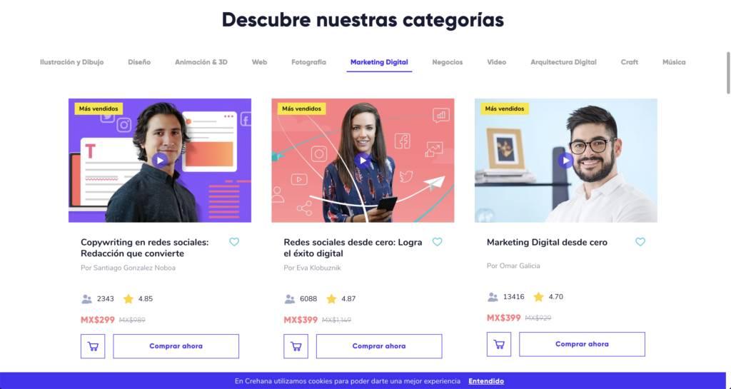 Marketing Digital con Crehana