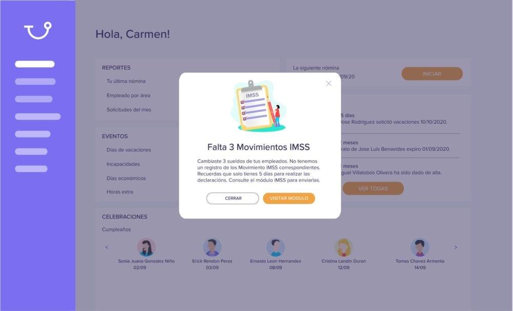 Cuenta con notificaciones sobre tus obligaciones IMSS