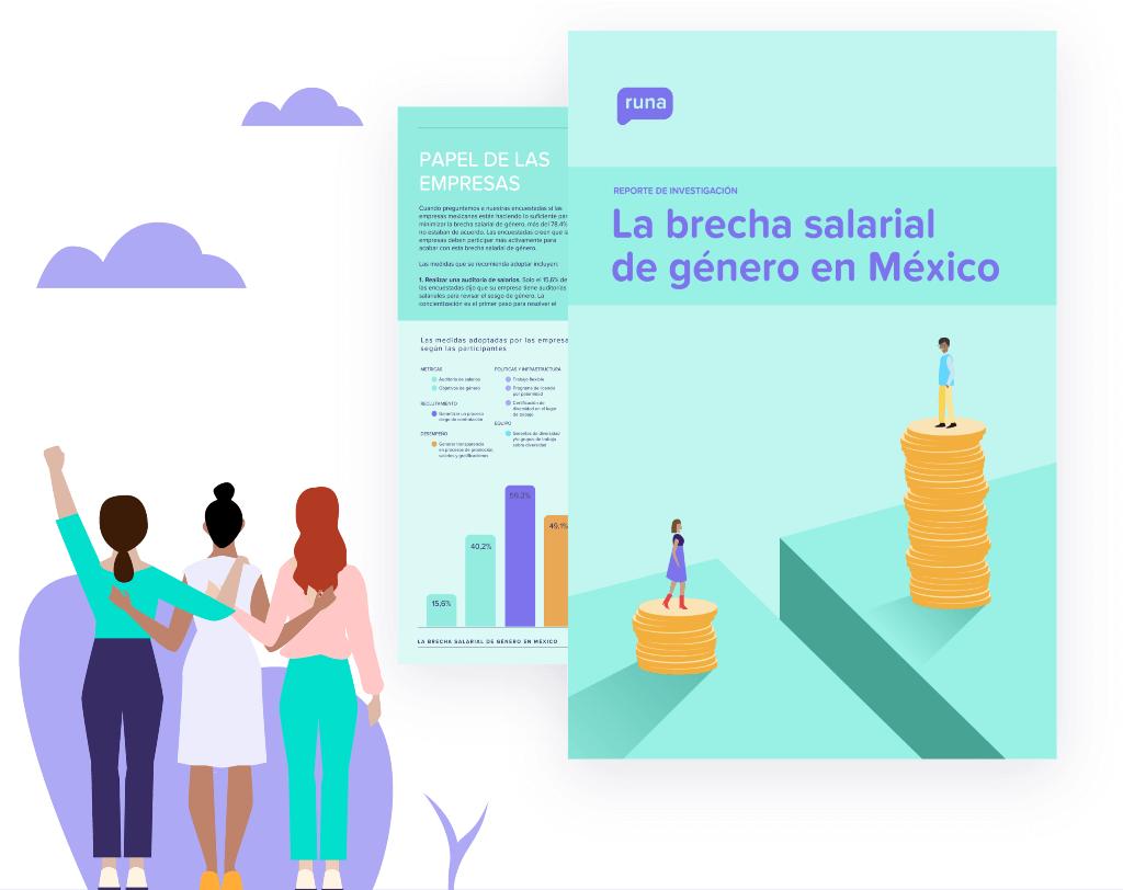 La brecha salarial de género en México