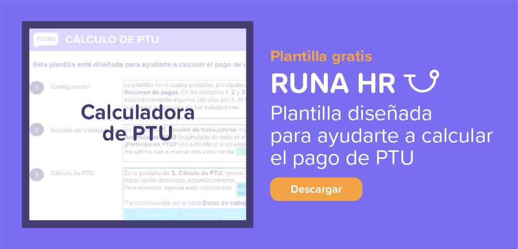 Descargable: Calculadora PTU | Runa HR